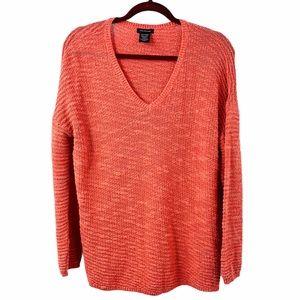 Calvin Klein Jeans Coral V Neck Sweater